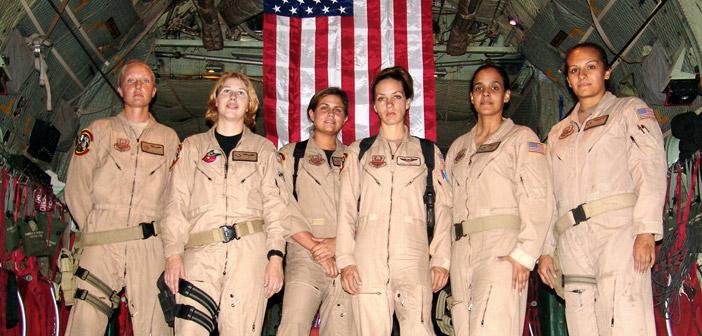 niceville eafb female c-130 combat crew