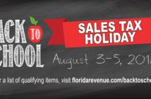 niceville florida school sales tax holiday 2018