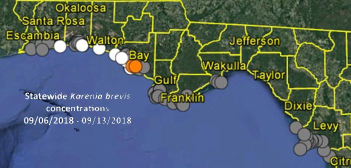 niceville red tide map