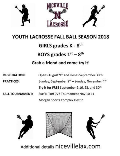 lacrosse niceville 2018