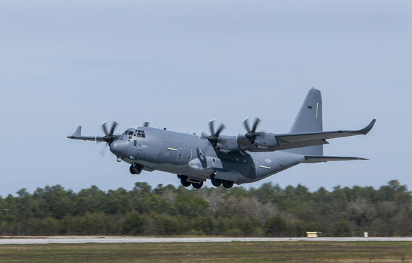 niceville eglin air force base c-130