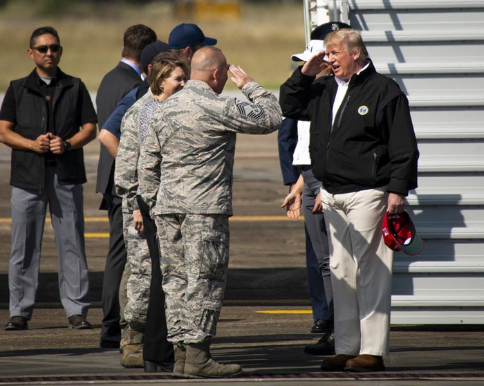 niceville eglin air force base Donald Trump