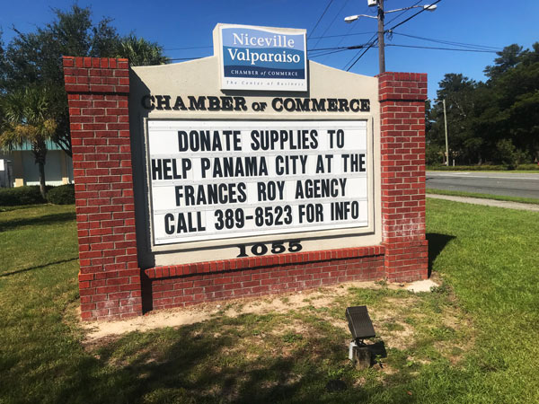 niceville hurricane michael relief