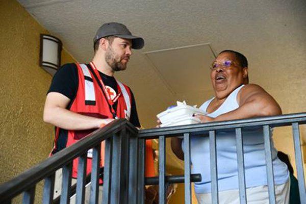 niceville hurricane michael red cross