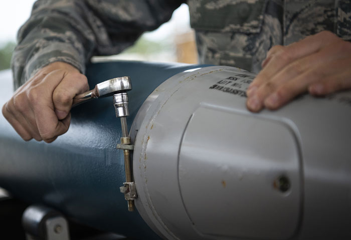 niceville eglin air force base bomb building