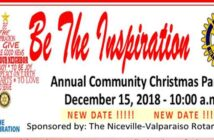 niceville christmas parade rescheduled 2018