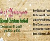 Yule of Yesteryear 2018 is Dec. 8 at the Museum