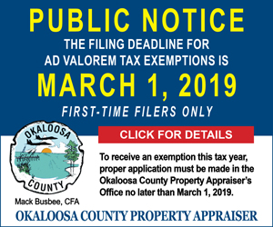 okaloosa county fl property appraiser exemptions