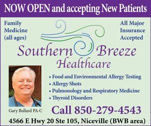 southern breeze healthcare niceville fl