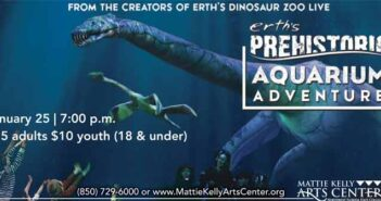 mattie kelly arts center prehistoric aquarium niceville fl