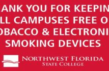 nwfsc northwest florida state college no smoking