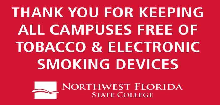 nwfsc northwest florida state college no smoking