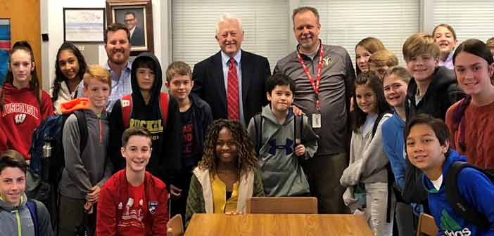 ruckel middle school niceville fl judge michael flowers civic class