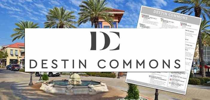 Destin Commons new logo