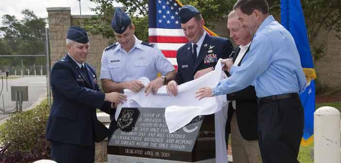 AN/FPS-85 radar's 50th anniversary ceremony