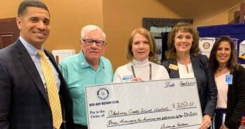 Mid-Bay Rotary Club Donates $3,250 to Take Stock in Children Program