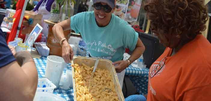 mac-n-cheese festival destin commons