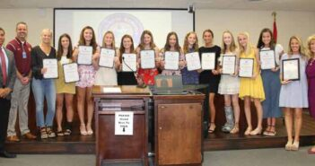 NHS Eaglettes recognized as jazz dance champions