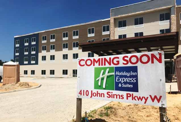 holiday Inn Express & Suites Niceville construction