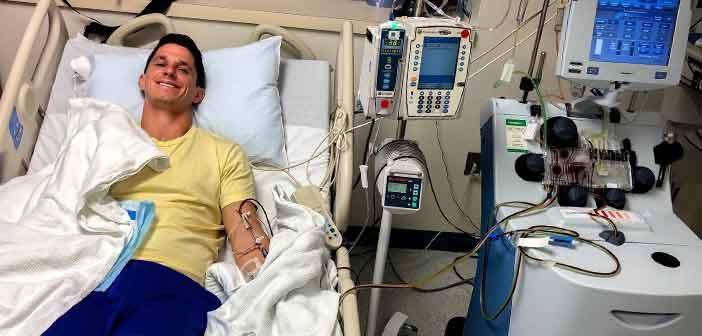 Matt Tucker blood marrow donation