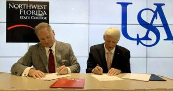 Northwest Florida State College has partnered with the University of South Alabama