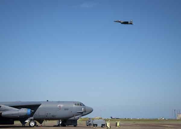 eglin air force base B-52 Stratofortress
