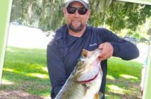 FWC trohycatch hall of fame largemouth bass Chad Dorland