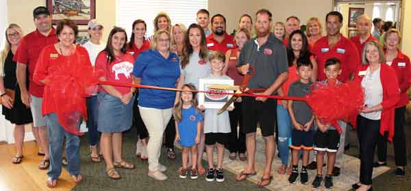 PSI ribbon cutting with Niceville Valparaiso chamber of commerce