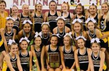 Ruckel Middle School Cheerleaders