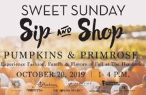 The Henderson Sweet Sunday pumpkins & Primrose