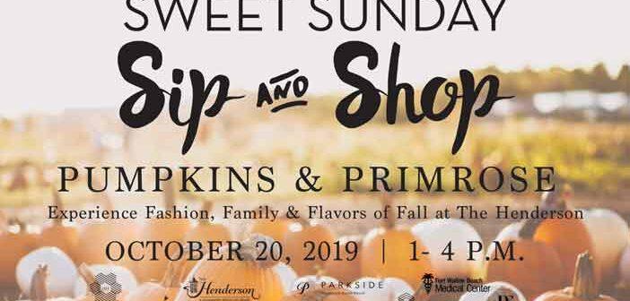 The Henderson Sweet Sunday pumpkins & Primrose