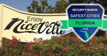 safe city logo, niceville sign