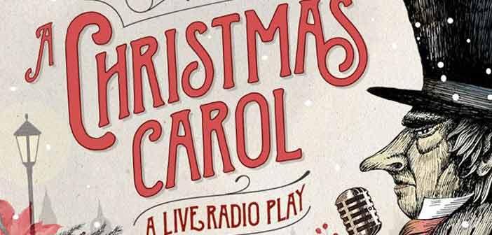 christmas carol poster