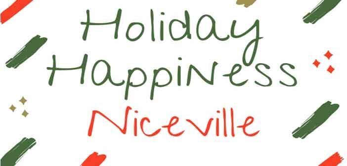 holiday happiness niceville logo