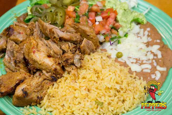 pepper's mexican grill & cantina niceville plate of foo