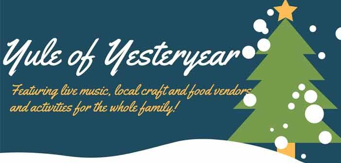 2019 yule of yesteryear valparaiso graphic