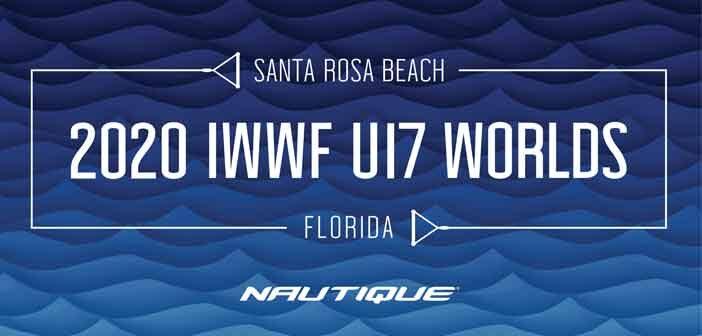 2020 IWWF World Junior Waterski Championships graphic