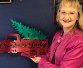 Rotary Club honors Debbie Lewis for Christmas Parade work