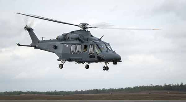 eglin air force base MH-139A grey wolf first combined test flight