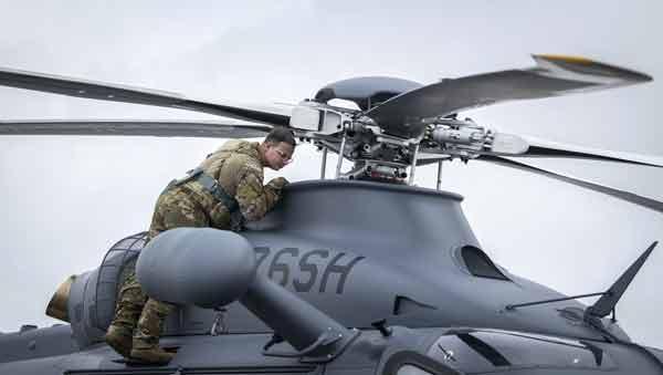 eglin air force base MH-139A grey wolf preflight check Staff Sgt. Alex Graves