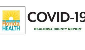 okaloosa covid-19 cases daily report update fort walton beach, destin, niceville