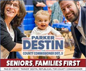 Parker Destin for Okaloosa County Commissioner Dist 5