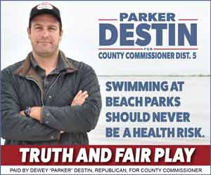 Parker Destin for Okaloosa County Commissioner Dist. 5