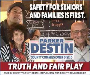 Parker Destin for Okaloosa County Commissioner Dist 5