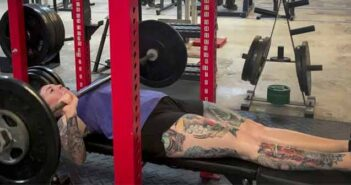 Shannon Cassinelli eglin air force base powerlifting wounded warrior