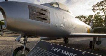 F-86 Sabre Eglin Air Force Base Armament Museum vinyl wrap