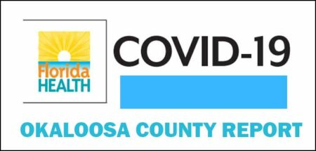 okaloosa covid-19 cases daily report update cities