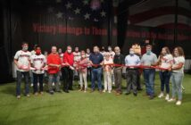 Northwest Florida State College in Niceville unveiled the new Raider Athletics Indoor Practice Facility
