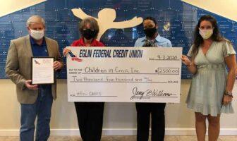 children in crisis efcu eglin federa credit untion sherry harlow ken hair