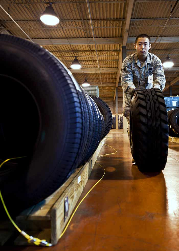 eglin air force base eafb supply warehouse tires